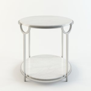 3D model bernhardt morello oval