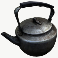 old teapot pot model