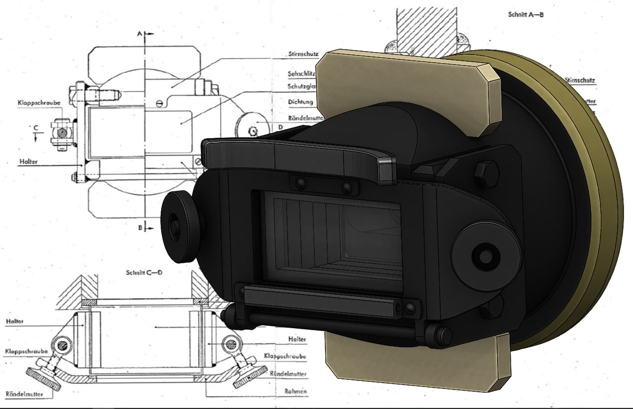 s tiger tank turret 3D model