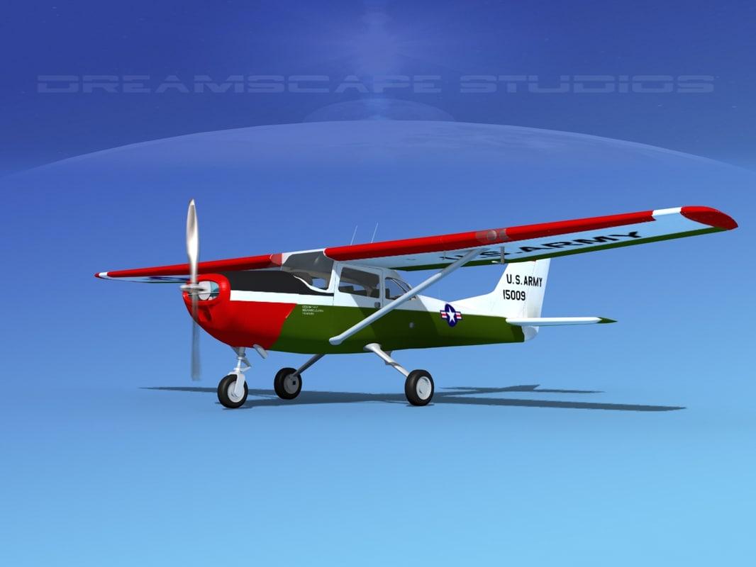 propellers cessna t-41 mescalero 3D