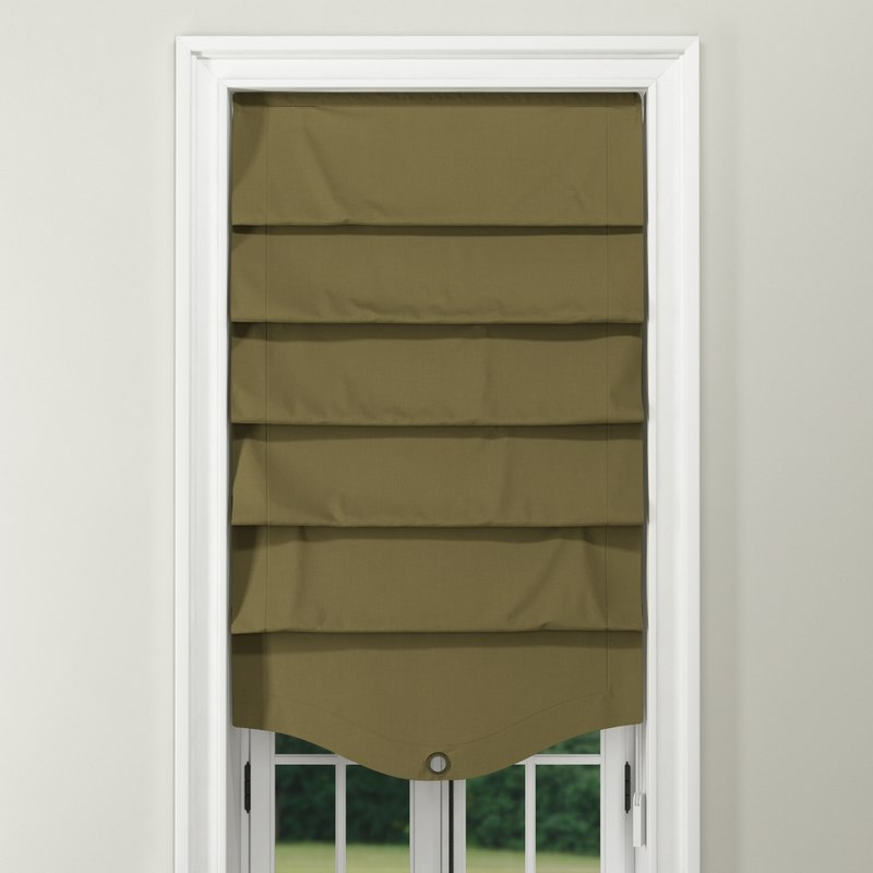 window roman shade 02-02-00 3D model