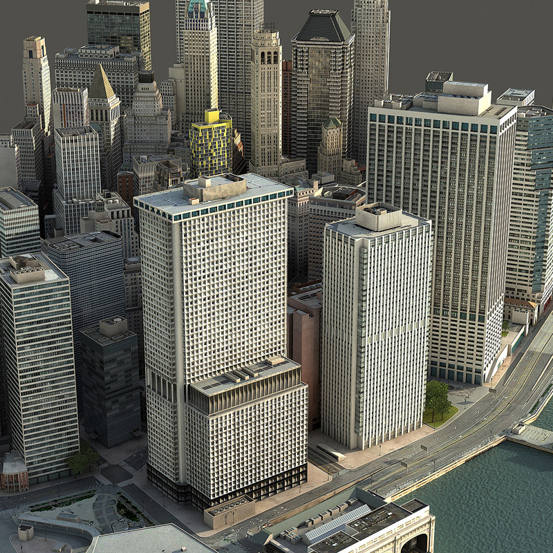 manhattan lower 3D