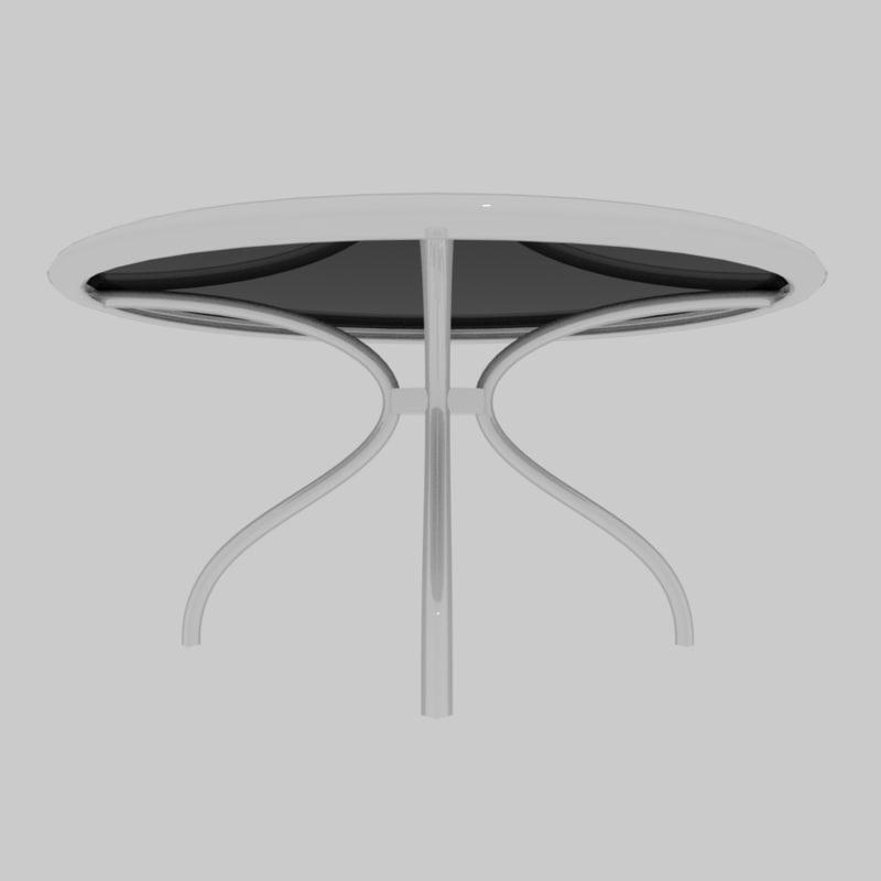 glass dinning table model
