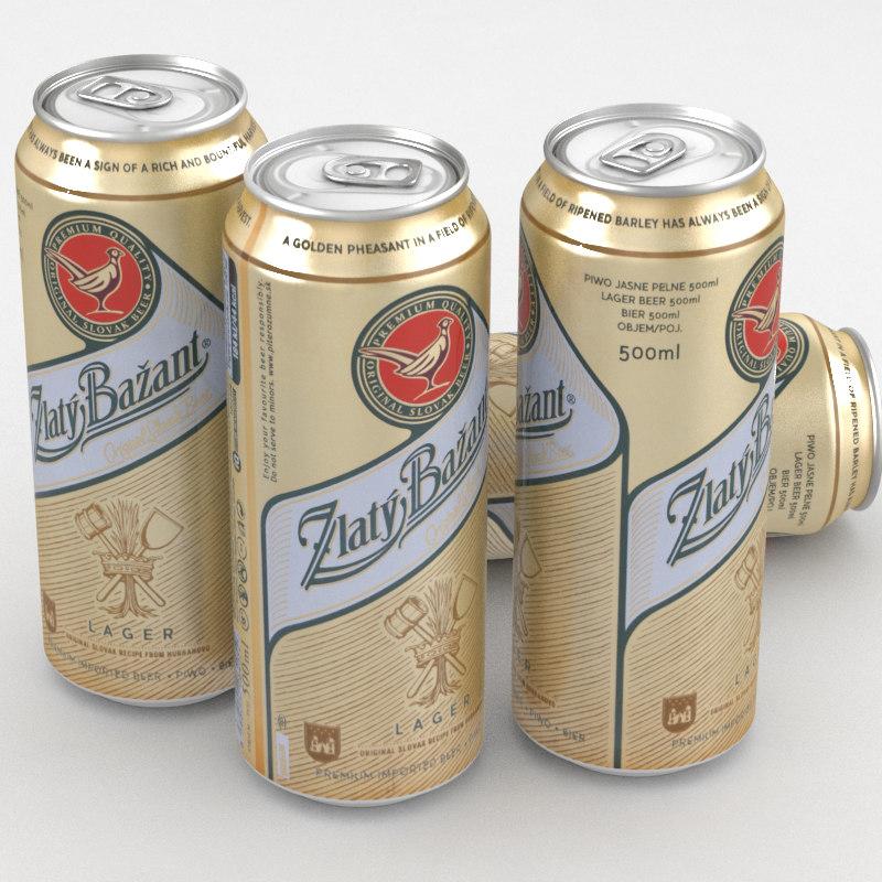 beer bazant 3D model