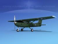 propellers cessna t-41 mescalero 3D model