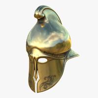 Helmet Greek Gold