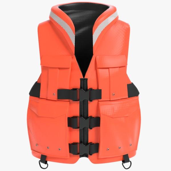 3D life jacket