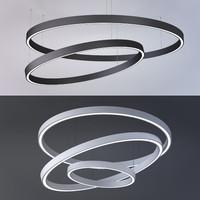 3D model diode lamp ring x-circule