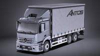 3D model mercedes 2017 box