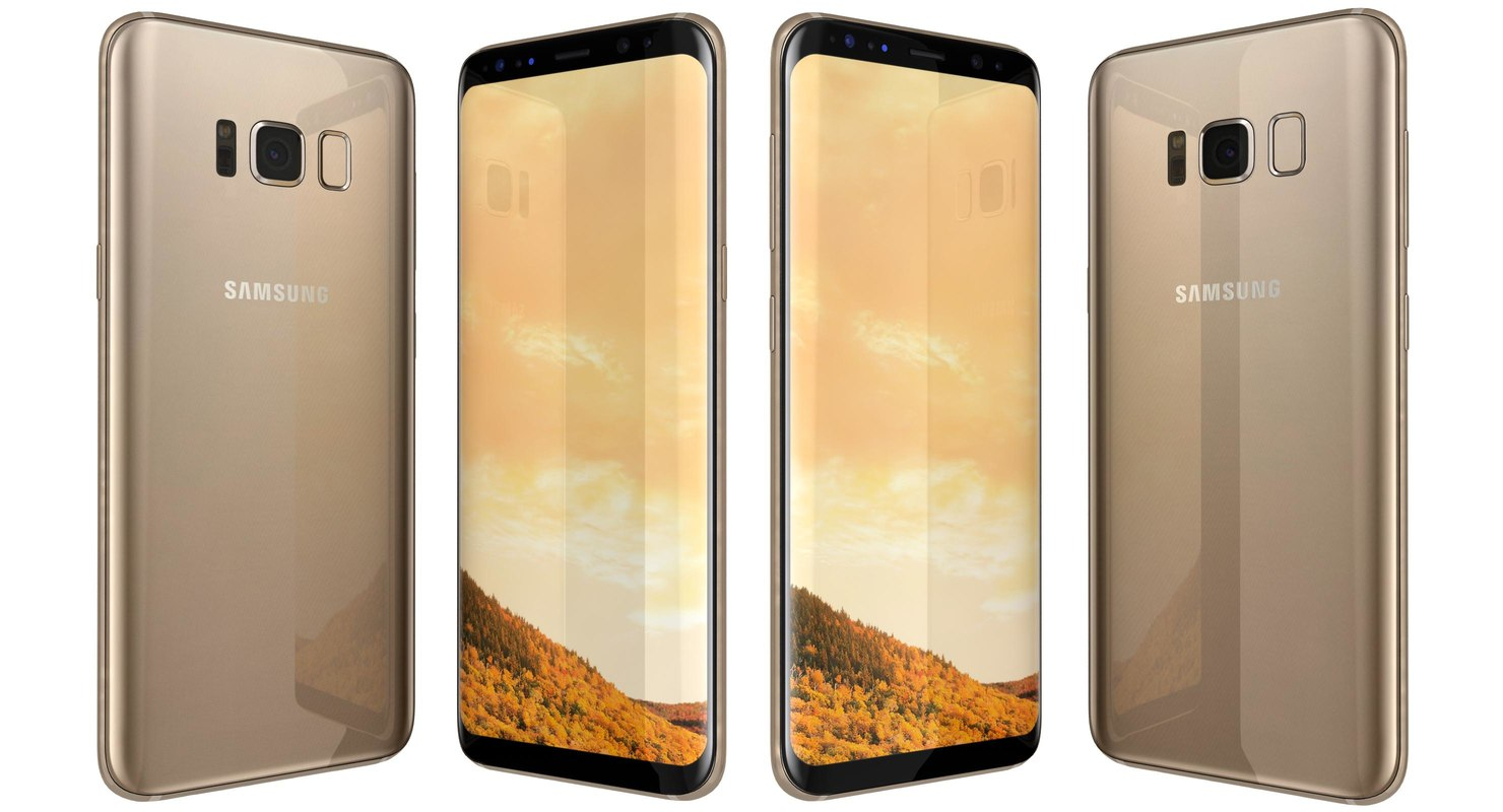 samsung galaxy s8 maple 3D