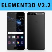 E3D - Huawei P10 Black