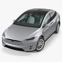 Tesla Model X P90D 2017