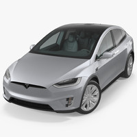 tesla x p90d 2017 model