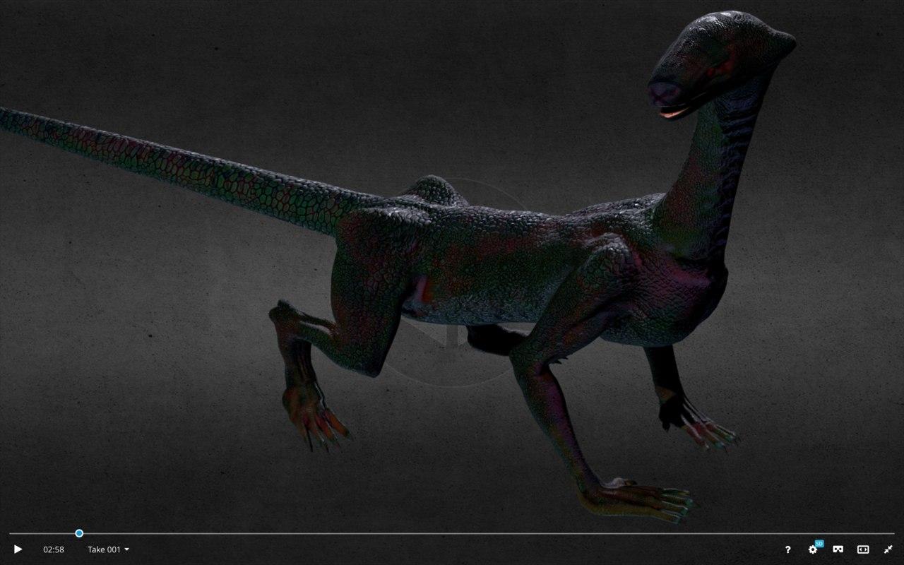 derrick storm dragon 3D model