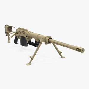 3D long range rifle cheytac m200