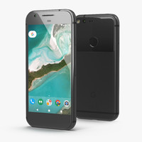 google pixel phone quite 3D model
