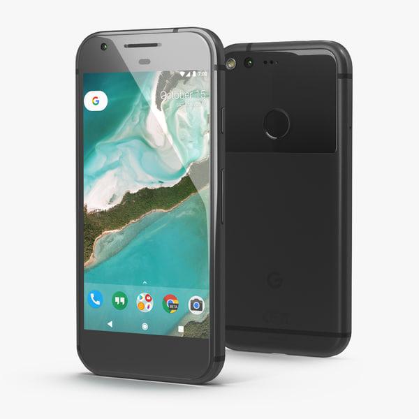 google pixel phone quite 3D model