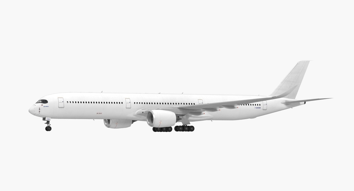 Airbus A350-1000 Generic Rigged