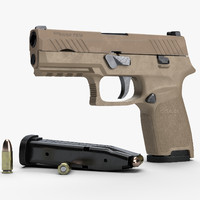 SIG Sauer P320 Compact size sand