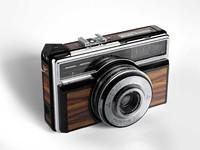 vintage compact camera 3D model
