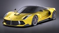 3D generic supercar 2017