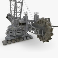 3D model bagger 288 industrial