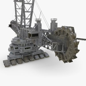 3D model bagger 288 industrial