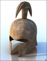 3D helmet helm gladiator