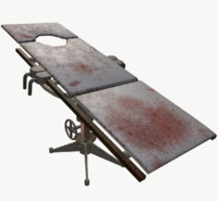 old surgical bed model