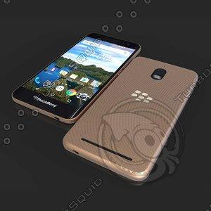 black phone blackberry 3D model
