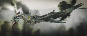 3D avatar mountain banshees ikran