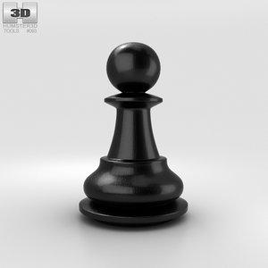 classic pawn chess 3D