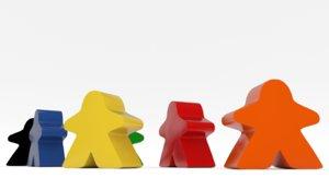 board meeple 3D model