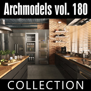 3D archmodels vol 180