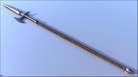 3D spear fantasy