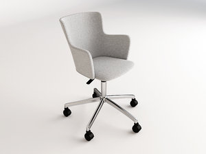 chair office winona 3D model