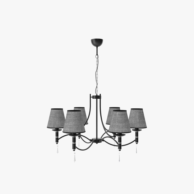 3D chandelier alfa abil