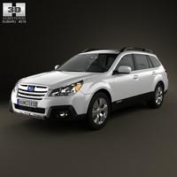 Subaru Outback limited US 2013