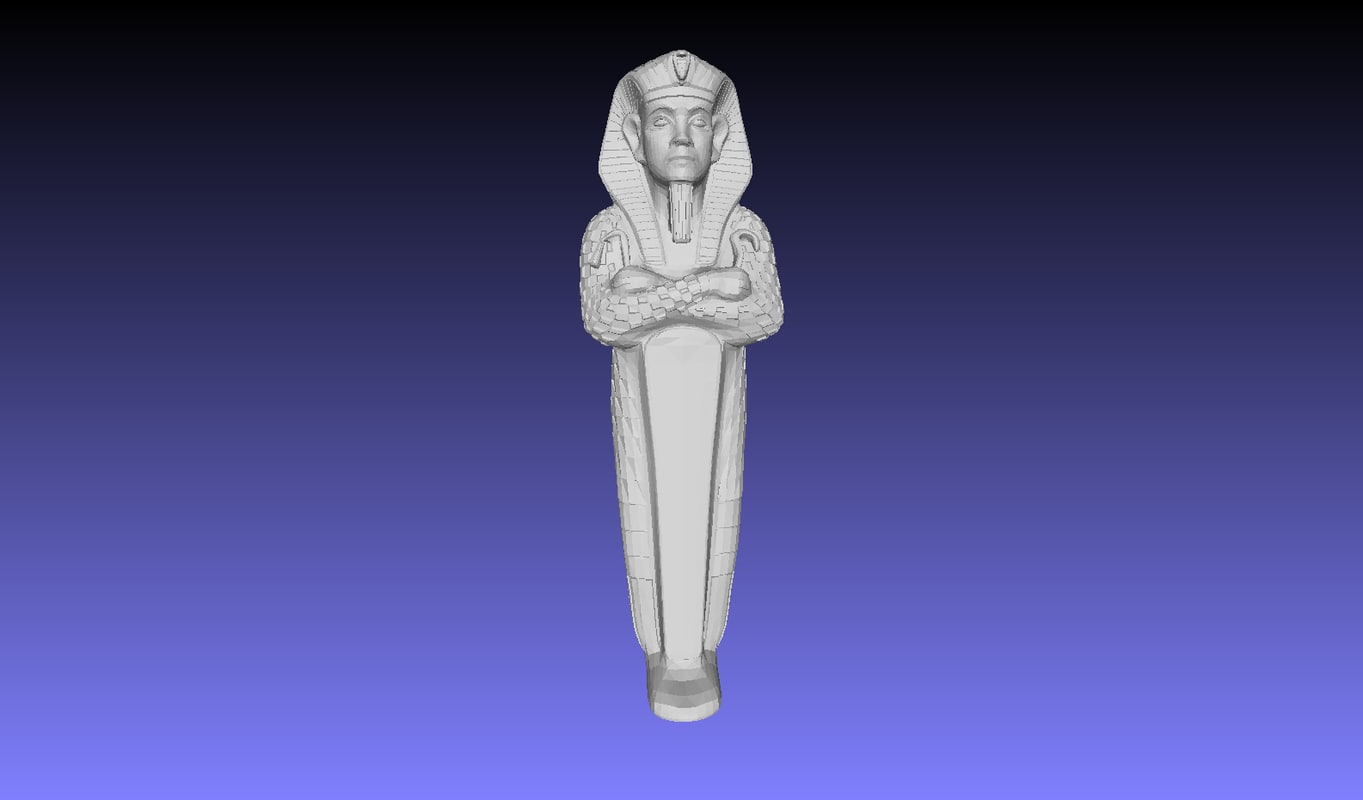 egyptian sarcophage 3D model