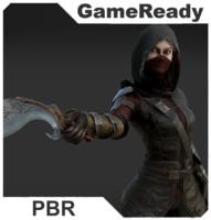3D assassin model