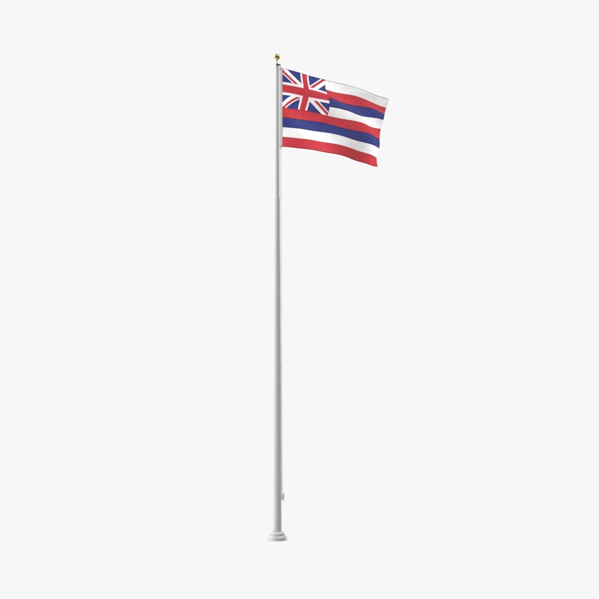 3D state-flags---hawaii