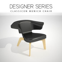 designer classicon chair 3D