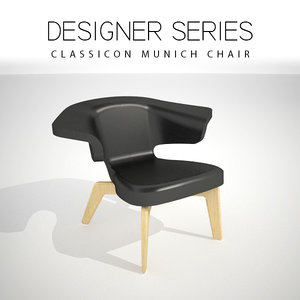 designer classicon chair 3D