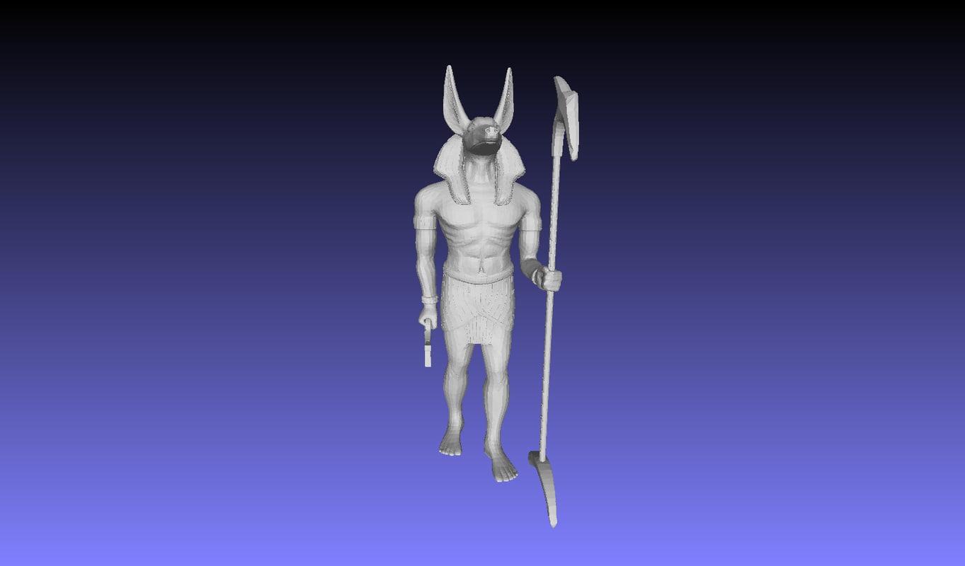 egyptien idol 3D model