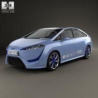 Toyota FCV-R 2012