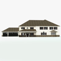 3D classic story house siding