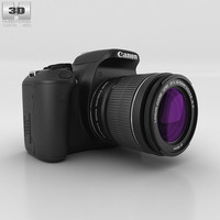 3D model canon eos 600d