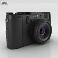 100 film fine 3D model