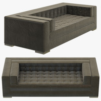 3D rh modern metropolitan sofa model