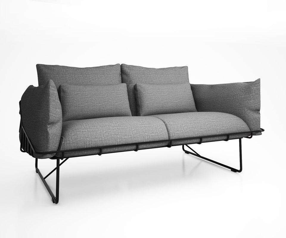picnic sofa industrial model